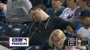 Sleeping Yankees fan mocked on TV files $10m lawsuit