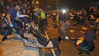 Protesters in Hong Kong told to go home