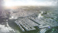 Architects in London sketch out proposals for 'Heathrow City'