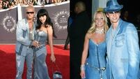 Perry riffs on Britney and Justin's double denim