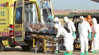 Floor 'splashed with blood' as health staff among ebola victims
