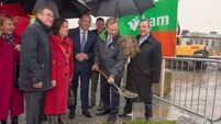 Kenny turns sod on €50m offices site