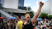 Diplomacy stretched - Protests in Hong Kong