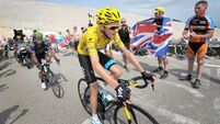 Froome falls as Kittel wins again