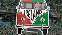 Our man in a van: We're nearing the end of the road... and hoping Ireland aren't
