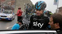 Devastated Froome quits Tour