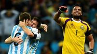 Shoot-out heroics  provide redemption for Romero