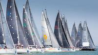 Irish crews wary in Cowes