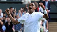 Teenage star Kyrgios sends Nadal crashing out