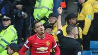 Van Gaal: Smalling's second yellow 'stupid'