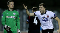 Dundalk tame weakened Derry to go six points clear
