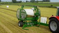 McHale Orbital Bale Wrapper wins award at Techagro show