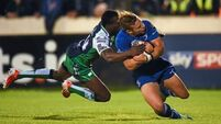 Leinster stunned as Marmion try inspires Connacht
