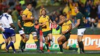 Horne's late heroics snatch victory for Wallabies