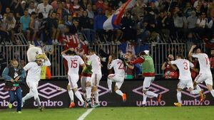 Serbia and Albania facing stiff Uefa sanctions over melee