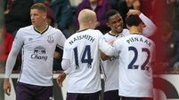 Eto'o 'exceptional' as Toffees sink Clarets