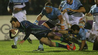 Connacht stay in race  for last eight