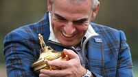 Unflappable McGinley now turns focus  to his own game