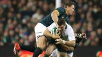 Henshaw at home on the big stage