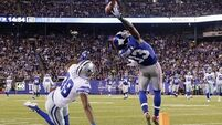 VIDEO: Amazing catch leaves NFL very thankful for rising star Beckham Jr