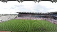 120,000 expected for weekend action at Croke Park