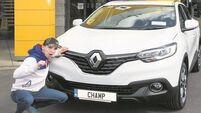 Motors & Me: Michael Conlan and his Renault Kadjar