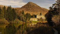 Tranquil break on the old estate of Ballynahinch Castle in Connemara