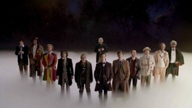Video: What is the average face of Doctor Who?