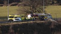 Four in hospital after two-car collision outside Ennis