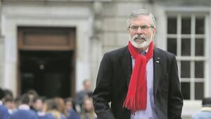 Gerry Adams under fire as IRA victim's son denies revealing names of suspects
