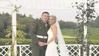 PICS: Call of duty as soldier weds girl of his dreams