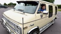 Motors & Me: Damien O'Brien and his 1985 Chevy G20 DayVan