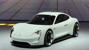 Porsche and Audi challenge Tesla in electric car market