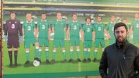 Will Sliney hopes to avoid row over top 11 footballers mural