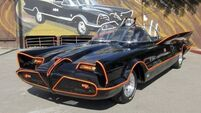 Holy smokes! Original Batmobile has no scratches and goes like a rocket