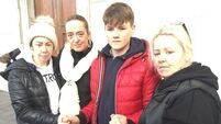 Family of drowned man hail Zack, 13, a hero for trying to save him