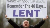 Priest uses '50 Shades' to whip up Lenten fervour