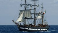 Ailing €14m replica Famine ship is worth just €150k