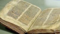 Manuscript returns to Dublin 400 years after leaving