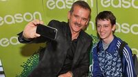 VIDEO: Chris Hadfield gets 'grounded' view of Cork in visit to city