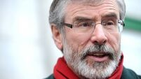 Gerry Adams: 'I never pulled a trigger, ordered a murder or set off a bomb'