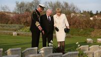 Higgins attends Gallipoli commemoration
