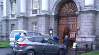 Trial for damage to gate at Trinity College