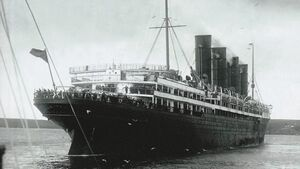 Visitors to Lusitania event in Cobh encouraged to take the train