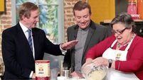 VIDEO: Enda Kenny meets his kitchen cabinet on Ireland AM