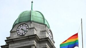 Fianna Fáil in war of words over flying of rainbow flag in Cork