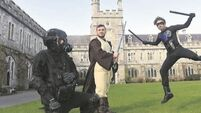 VIDEO: 'Growing up is optional' as sci-fi enthusiasts take over UCC