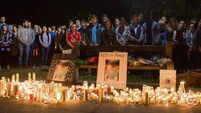 Berkeley tragedy: Students gather at candlelight vigil in 'beautiful tribute' to their friends