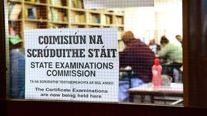 STATE EXAMS: Water tank appears in both levels of Junior Cert maths