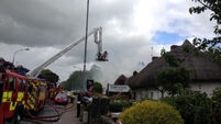 Thatcher's sadness at Adare cottage fires